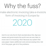 Infographic: A beginners guide on electronic invoicing in Europe