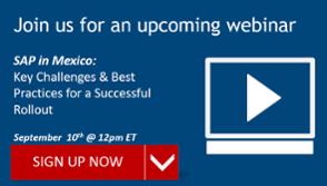 [Webinar] SAP in Mexico