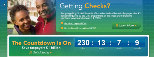 US kicks-off with e-billing: countdown timer and online payment platform